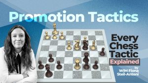 Every Chess Tactic Explained: Promotion