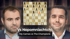 Vs Nepomniachtchi: My Games vs The Champions